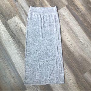 Dresses & Skirts - Light Grey Midi Skirt